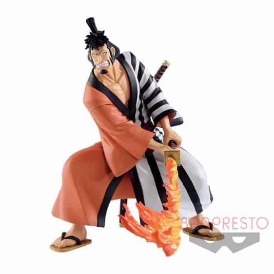 Wano Country Samurai Firefox Kin'emon One Piece Static Figure