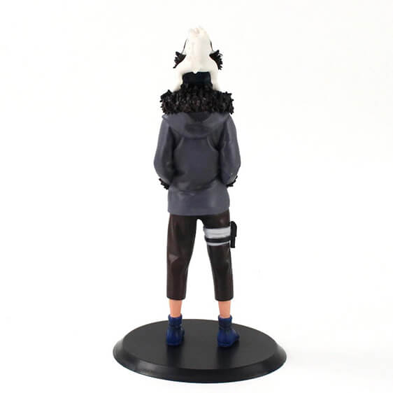 Young Genin Ninja Kiba & Akamaru Adorable Action Figure