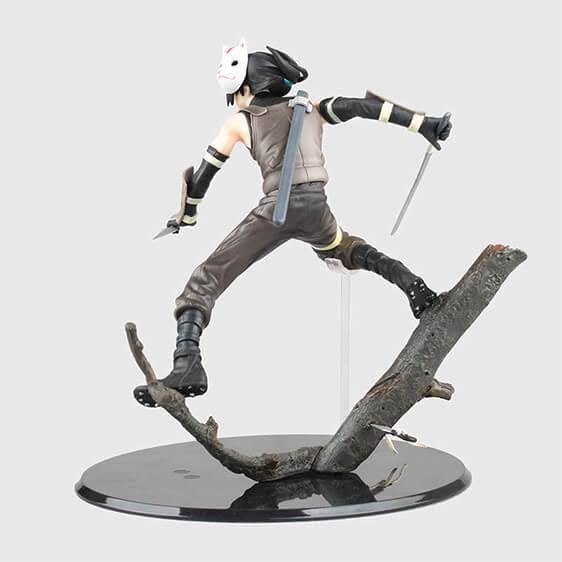 Young Itachi Uchiha ANBU Ninja Badass Naruto Toy Figurine
