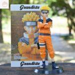 Young Naruto Uzumaki Leaf Village Genin Ninja Action Figure