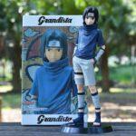 Young Sasuke Uchiha Genin Ninja Cool Naruto Action Figure