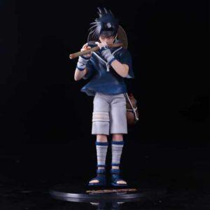 Young Uchiha Sasuke Playing Flute Awesome Toy Figurine