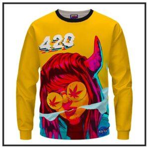 420 & Marijuana Sweatshirts
