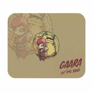 Adorable Chibi Gaara and Shukaku Tailed Beast Mouse Pad