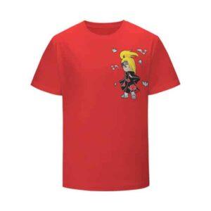 Awesome Deidara Iwagakure Shinobi Red Kids T-Shirt