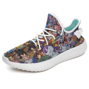 Awesome Dragon Ball Characters Artwork Yeezy Sneakers