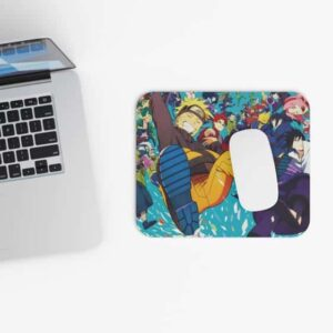 Awesome Naruto Shippuden All Characters Dope Mouse Pad