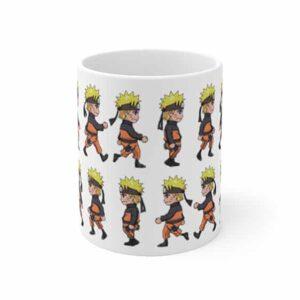 Awesome Naruto Uzumaki Chibi Style Art Pattern Coffee Mug