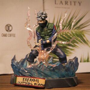 Badass Kakashi Hatake Lightning Blade Ninjutsu Static Figure