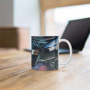 Badass Kakashi Hatake Vs Obito Uchiha Sharingan Coffee Mug