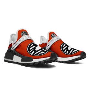 Dragon Ball Z King Kai Kanji Red Cross Training Sneakers