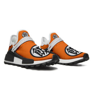 DBZ Son Gohan Han Kanji Orange Cross Training Shoes