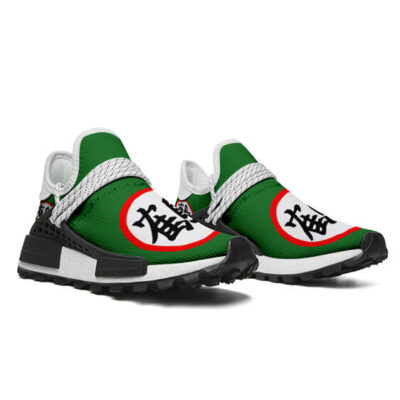 DBZ Tien Shinhan Crane Kanji Green Cross Training Shoes