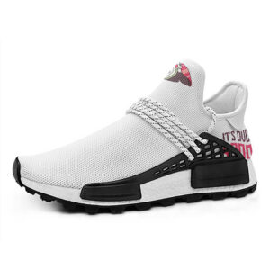 It's Over 9000 Iconic Scouter DBZ White Cross Training Shoes