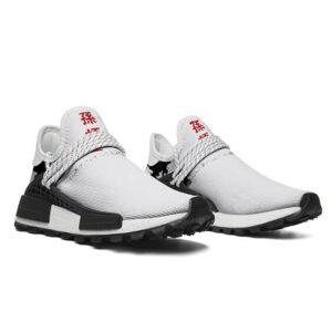 DBZ Kid Goku Silhouette Design White Cross Training Shoes