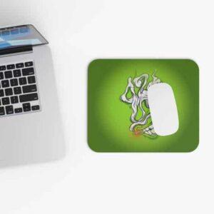 Cannabis 420 Smoke Logo Style Dope Non-Slip Mouse Pad