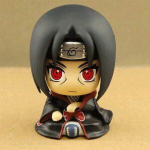 Cool Akatsuki Itachi Uchiha Sitting Miniature Static Figure