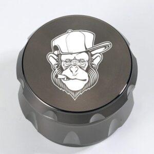 Cool Hype Beast Monkey Head Art Design Marijuana Herb Grinder