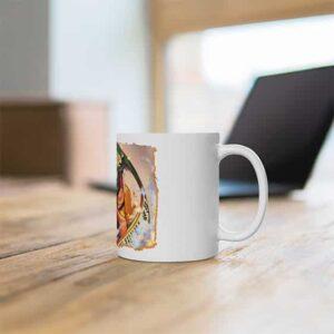 Cool Naruto Uzumaki Holding Scroll Ceramic Coffee Mug