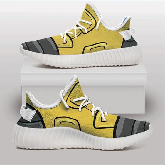 DBZ Future Trunks Shoe Design Cosplay Yeezy Sneakers