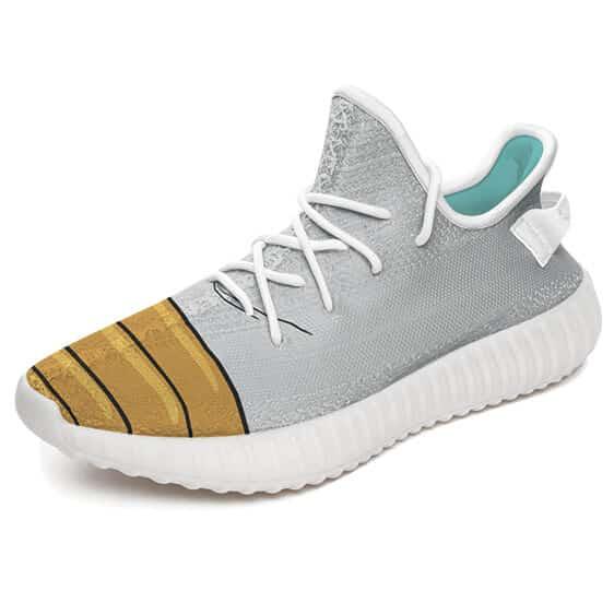DBZ Saiyan Warrior Shoes Design Cosplay Yeezy Boost