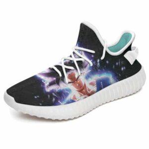 Dragon Ball Super Goku's Ultra Instinct Yeezy Sneakers