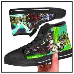 Dragon Ball Z Canvas High Top Sneakers