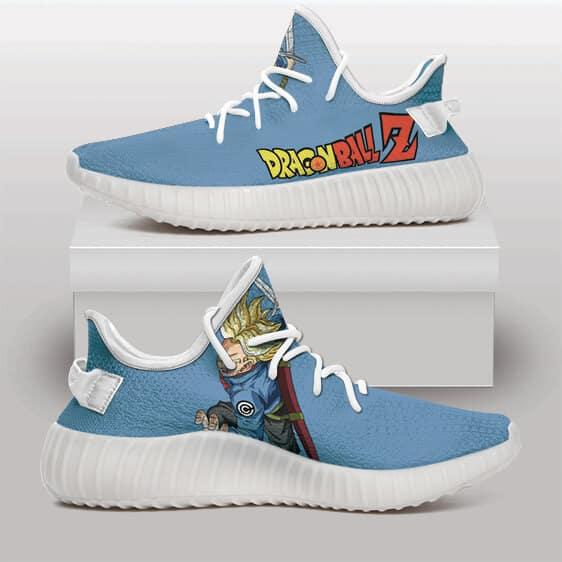 Dragon Ball Z Future Trunks Brave Sword Yeezy Sneakers