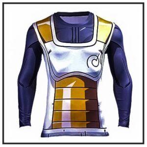 Dragon Ball Z Long Sleeve Workout Shirts