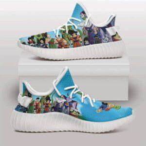 Dragon Ball Z Series Cell Saga Awesome Yeezy Sneakers