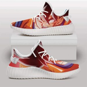 Dragon Ball Z Son Goku Power Up Base Form Yeezy Shoes