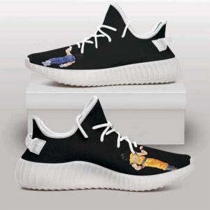Dragon Ball Z Son Goku & Vegeta Fist Bump Yeezy Sneakers
