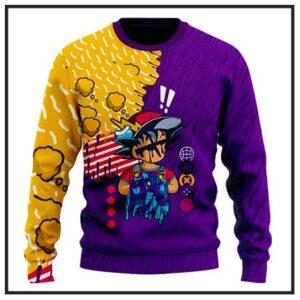 Dragon Ball Z Wool Sweaters