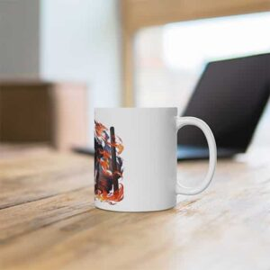 Epic Pain Yahiko Deva Path Holding Chakra Rods Coffee Mug