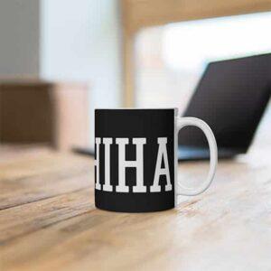 Famous Uchiha Clan Fan Shaped Symbol Ceramic Coffee Mug