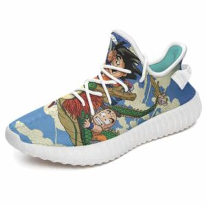 Flying Shenron Kid Goku Bulma Krillin & Piccolo Yeezy Shoes