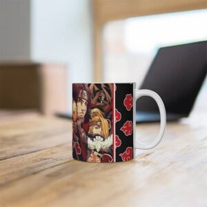 Full Force Akatsuki Members Artwork Dope Ceramic Coffee Mug
