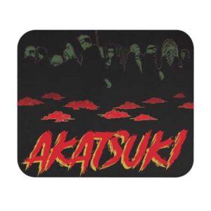 Full Roster Akatsuki Members Red Cloud Dope Mouse Pad