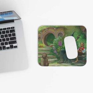 Gandalf & Bilbo Baggins Chillin and Smoking Dope Mouse Pad