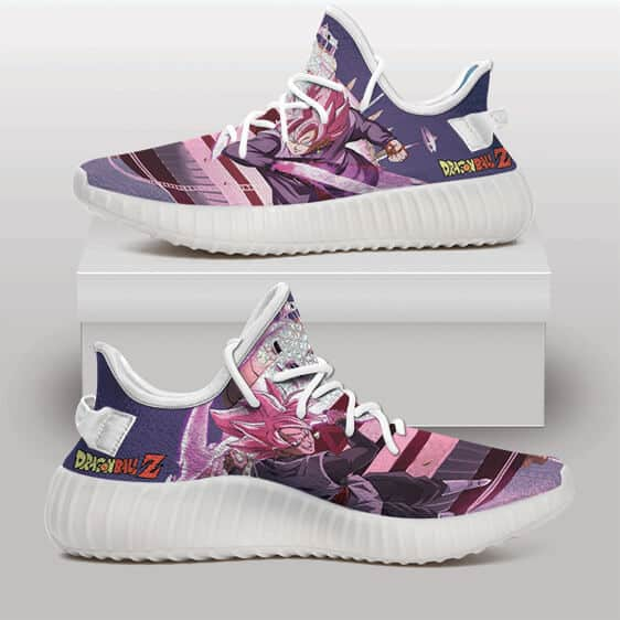 Goku Black Super Saiyan Rose Energy Blade Yeezy Sneakers