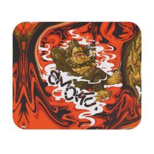 Gorilla Trippy Smoke Liquid Art 420 Weed Mouse Pad