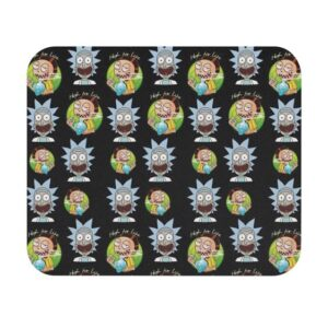 High for Life Adventures of Rick and Morty 420 Mouse Pad
