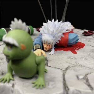 Jiraiya The Gallant Death Moment Naruto Action Figure