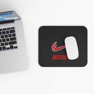 Jutsu It Akatsuki Cloud Nike Just Do It Parody Mouse Pad
