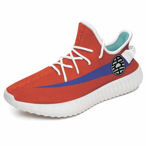 Lord of the Worlds King Kai Kanji Symbol Yeezy Shoes