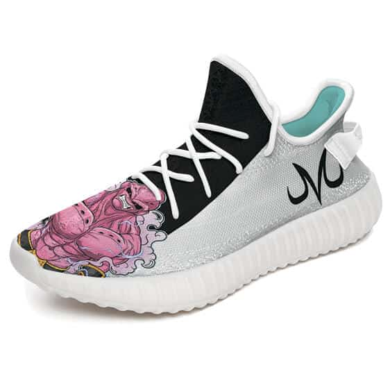 Majin Buu Evil Final Form Majin Symbol Yeezy Shoes