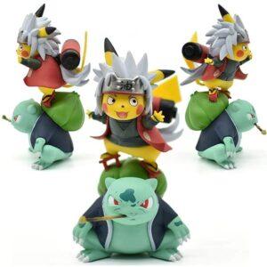 Master Jiraiya & Gamabunta Pikachu Parody Static Figure