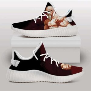 Master Roshi Max Power Muscular Form Yeezy Sneakers
