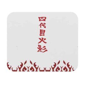 Namikaze Minato Coat Design Yondaime Hokage Mouse Pad