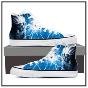 Naruto High Top Canvas Sneakers